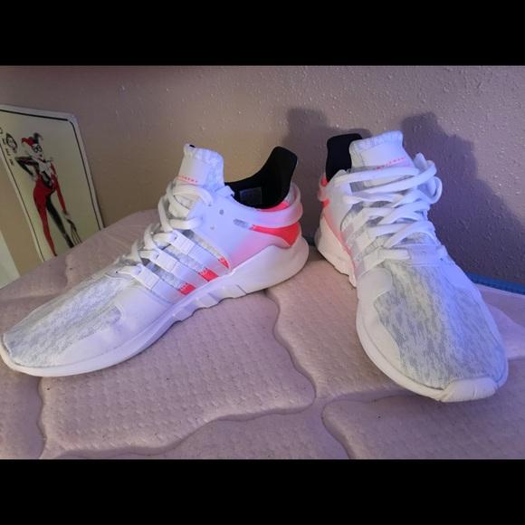 le adidas mens eqt appoggio avanzata crywhtftwwhtturbo poshmark scarpa